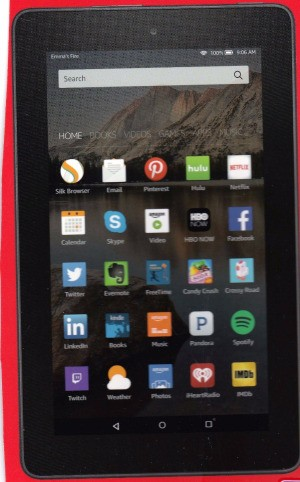 Product Review Amazon Kindle Fire HD