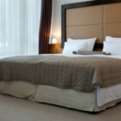 King Size Bed with Dust Ruffle