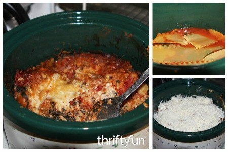 Crockpot Vegetarian Lasagna Recipe