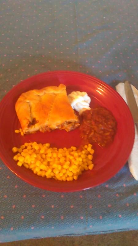Double Crust Taco Pie
