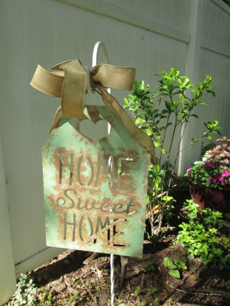 How To Take A Sign And Make It Look Vintage