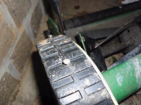 Fix Reel Mower Treads