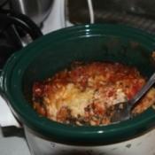 Crockpot Vegetarian Lasagna