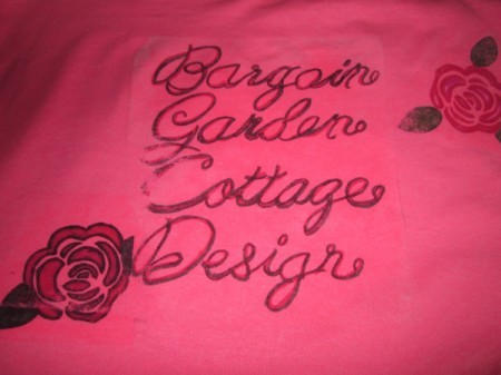 Designing A Tee Shirt With Iron On Transfer