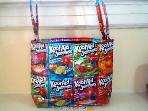 Juice Pouch Totes