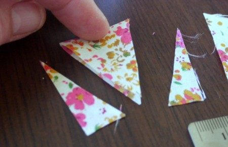 Simple Pennant Cake Topper
