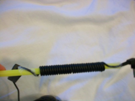 Coil Cords to Reduce Tangles