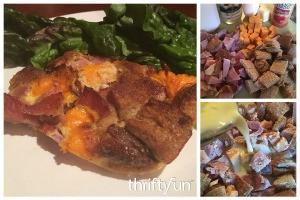 Ham and Cheese Fondue Bake Recipe