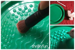 DIY Brush Cleansing Palette