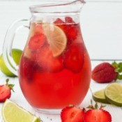 Strawberry Lime Punch Recipes