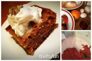 Spiked Persimmon Cake