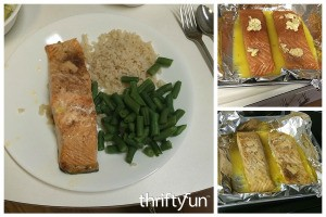 Baked Salmon in Orange Juice Recipe