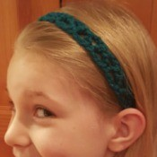 Making a Simple Crochet Headband