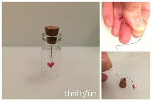 Making a Tiny Heart in a Bottle