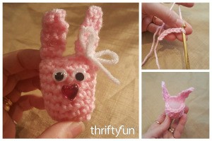 Crocheted Bunny Nugget