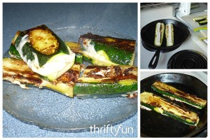 Zucchini Grilled Cheese Recipe
