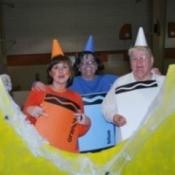 Making a Crayon Costume