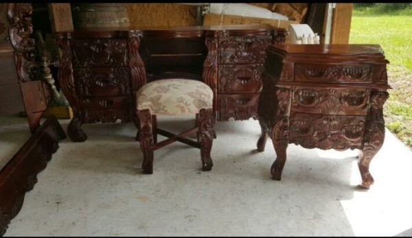Value of Rococo Style Bedroom Set - Selling Antique Furniture ThriftyFun