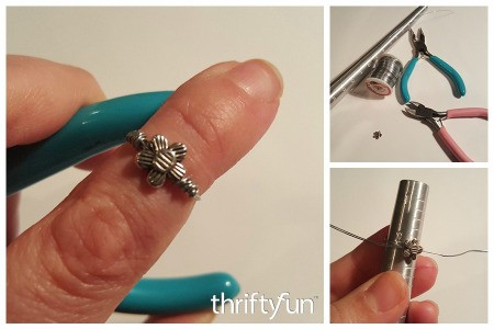 Making Wire Wrapped Midi Rings