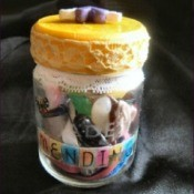 Making a Mending Jar Gift