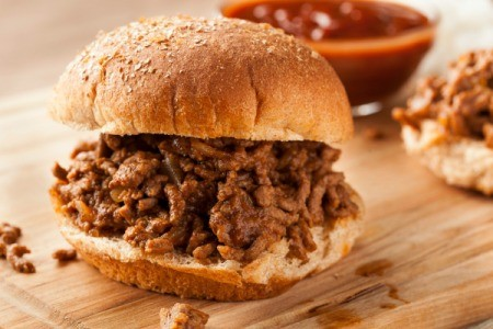 Slow Cooker Barbeque Beef Sandwiches