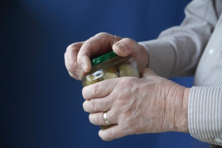 Opening Jars with Arthritic Hands
