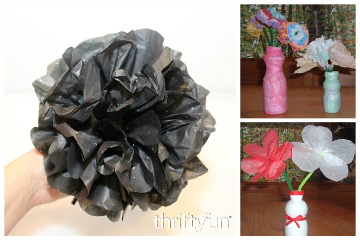 Crafts Using Tissue Paper Thriftyfun