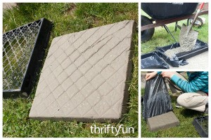 Making Concrete Stepping Stones