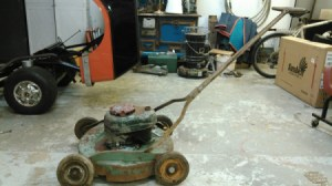 older push mower