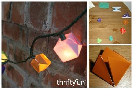 Origami LED Light Embellishments