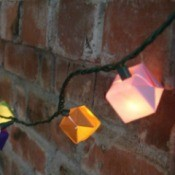 Origami LED Light Embellishments