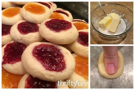 Cream Cheese Thumbprint Cookie Recipe