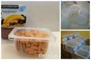 Uses for Plastic Baby Food Containers