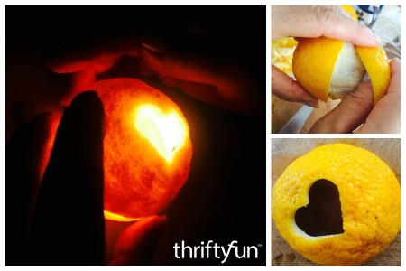 Making an Orange Candle