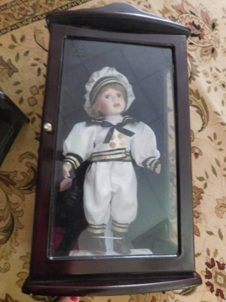 Vincent doll in old fashioned sailor suit