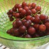 Salad Spinner to Clean Grapes