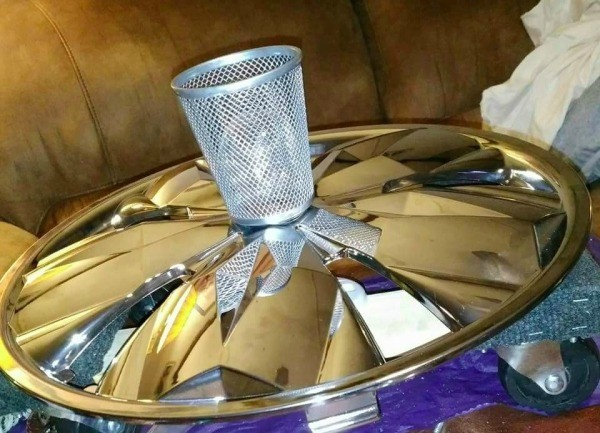 Hubcap Lighting Fixture
