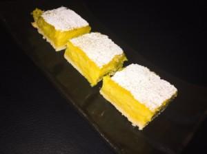 Mango Lime Bars