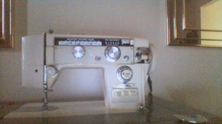 Old Hamilton Model Sewing Machine