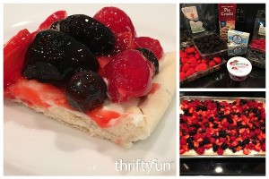 Making a Berry Slab Pie