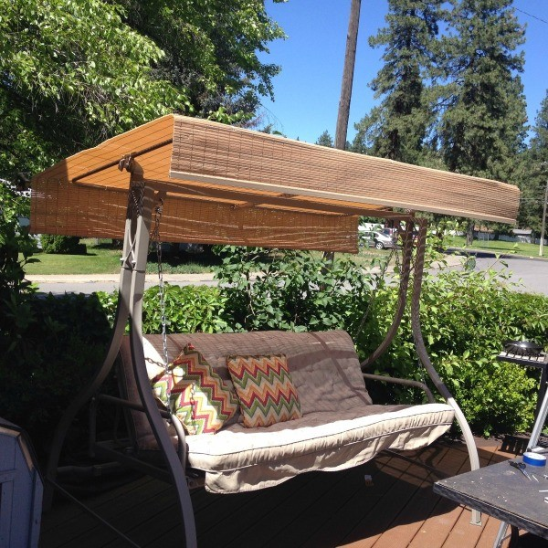 Replacement Canopy for an Outdoor Swing & Replacing the Canopy on a Patio Swing | ThriftyFun