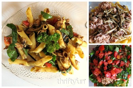 Gluten Free Tuna and Herb Pasta Salad Recipes