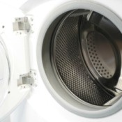 Open Front Load Washing Machine