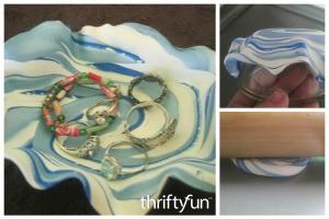 Making Polymer Clay Trinket Bowls