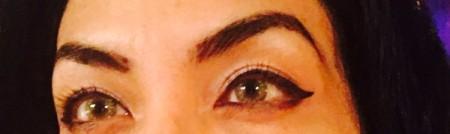 eyebrow closeup