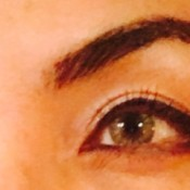 eyebrow closeup