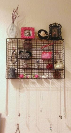 Turn a Silverware Tray into a Small Shelf