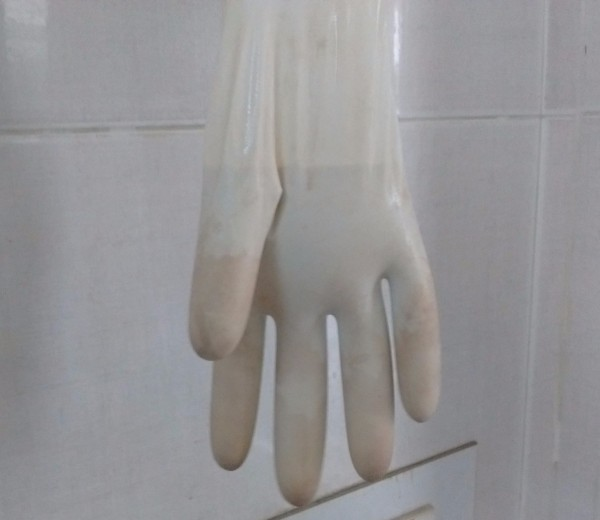 Simple Plaster of Paris Hand Keyholder