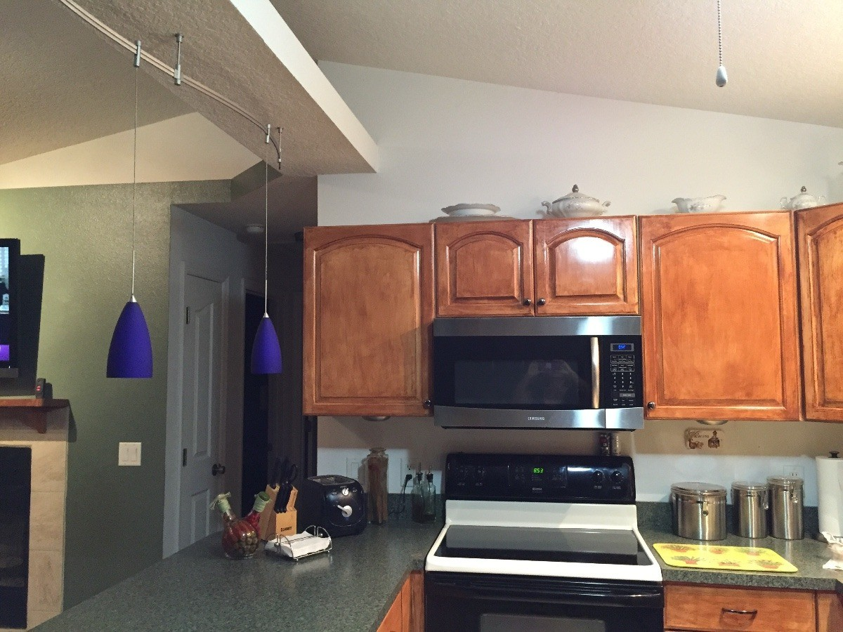 Paint Color Advice for a Kitchen With Cherry Cabinets ...