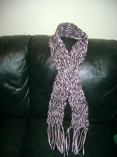 Making a Scarf with a Knifty Knitter